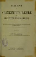 view Lehrbuch der Arzneimittellehre und Arzneiverordnungslehre / bearbeitet von Erich Harnack.