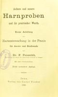 """view Materialien zu einer Geschichte der """"Influenza"""" : im Auschluss an eine genaue Bibliographie dieser epidemischen Krankheit / von Walther Kratz."""