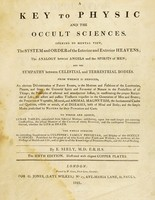 view A key to physic, and the occult sciences / [E. Sibly].