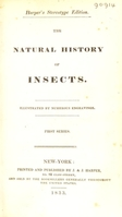 view The natural history of insects.