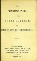 view The pharmacopoeia of the Royal College of Physicians of Edinburgh.