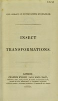 view Insect transformations / [Anon].