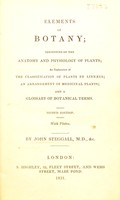 view Elements of botany
