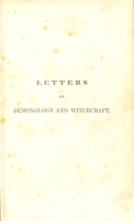 view Letters on demonology and witchcraft / [Sir Walter Scott].