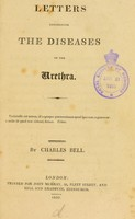 view Letters concerning the diseases of the urethra