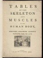 view Tables of the skeleton and muscles of the human body ...