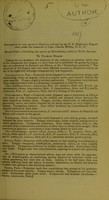 view Descriptions of new species of reptiles, collected by the U.S. Exploring Expedition, under the command of Capt. Charles Wilkes, U.S.N. / by Charles Girard.