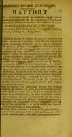 view Rapport fait à l'Académie royale de médecine sur les pièces d'anatomie artificielle de M. Ameline ... : séance générale du 3 février / commissaires, MM. Beclard, J. Cloquet, H. Cloquet, Brechet ; et Marjorin, rapporteur.