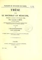 view De l'ostéopériostite juxta-épiphysaire : thèse pour le doctorat en médecine, présentée et soutenue le 18 décembre 1862