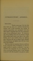 view An introductory lecture delivered at the Westminster Hospital on the occasion of the opening of the medical session, October 1, 1863