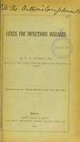 view Cures for infectious diseases
