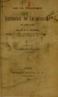 view Note sur l'enseignement et l'exercice de la médecine en Danemark / par A. Dureau.
