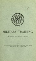 view Military training / by Henry G. Beyer.