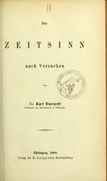 view Der Zeitsinn