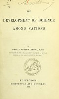 view The development of science among nations