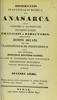 Dissertatio inauguralis medica de anasarca ...