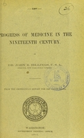 view The progress of medicine in the nineteenth century