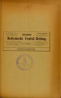 view Der Nervenkreislauf : Vortrag, gehalten in der XV. Section des Internationalen Congresses zu Lissabon im April 1906