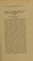 view Doubling the reading power in amblyopia by the crossed-cylinder 'reader' / by George M. Gould.