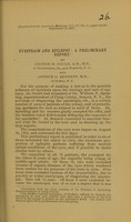 view Eyestrain and epilepsy : a preliminary report / by George M. Gould and Arthur G. Bennett.