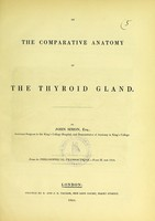 view On the comparative anatomy of the thyroid gland