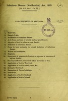 view Infectious Disease (Notification) Act, 1889.