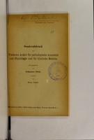 view Beiträge zur Kenntnis des weiblichen Scheinzwittertums / von Johannes Fibiger.