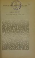 view Ritual diseases