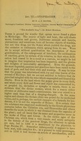 view Opiophagism, or, Psychology of opium eating / by W.A.F. Browne.