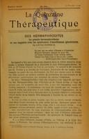 view Des hermaphrodites : le pseudo-hermaphrodisme et ses rapports avec les syndromes d'insuffisance glandulaire / par Paul Sainton.