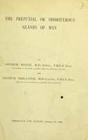 view The preputial or odoriferous glands of man / by Arthur Keith and Arthur Shillitoe.