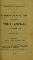 view The working-man's companion : The Physician.