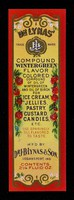 view Dr. Lynas trade mark compound wintergreen flavor colored compound of oil of wintergreen and oil of birch for ice cream, jellies, pastry, custard, candies, etc. : use sparingly till flavored to taste : 2 1/4 fluid oz / m'f'd by Dr. J. B. Lynas & Son, Logansport, Ind.