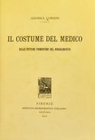 view Il costume del medico nelle pitture fiorentine del Rinascimento