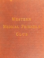 view The Western Medical Friendly Club, 1862 : not meat but cheerfulness makes the feast