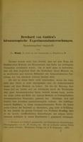 view Bernhard von Gudden's hirnanatomische Experimentaluntersuchungen : zusammengefasst dargestellt / von Dr. Nissl.