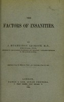 view The factors of insanities