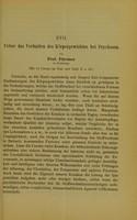 view Ueber das Verhalten des Körpergewichtes bei Psychosen / von Prof. Fürstner.