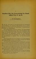 view Gutachten über den Geisteszustand des Brandstifters Peter Z. aus H. / von H. Emminghaus.
