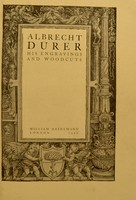 view Albrecht Dürer, his engravings and woodcuts