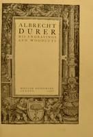 view Albrecht Dürer, his engravings and woodcuts / [Albrecht Dürer].