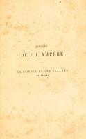 view La science et les lettres en Orient / par J.J. Ampère ... ; avec une préface par M. Barthélemy Saint-Hilaire.