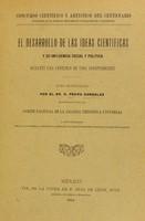 view El desarrollo de las ideas científicas y su influencia social y política durante una centúria de vida independiente