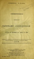 view Commercial. No. 13 (1893). Correspondence respecting the sanitary convention signed at Dresden on April 15, 1893.