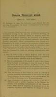 view [Memorandum on clinical teaching].