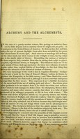 view Alchemy and the Alchemists.