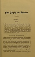 view Stock keeping for amateurs : a manual on the varieties, breeding, and management of pigs, sheep, horses, cows, oxen, asses, mules, and goats, and the treatment of their diseases designed for the use of young farmers and amateurs / by W.H. Ablett.