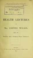 view Health lectures