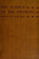 view The science of the emotions