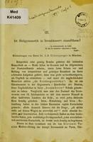 view Ist Heilgymnastik in Irrenhäusern einzuführen? : Mittheilungen / von J.B. Ullersperger.